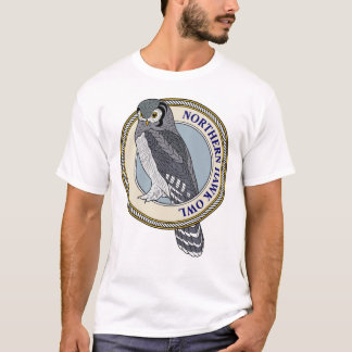 Northern Hawk Owl-M T-Shirt