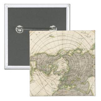 Northern Hemisphere 3 15 Cm Square Badge