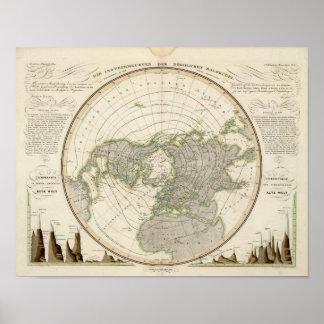 Northern Hemisphere 3 Poster