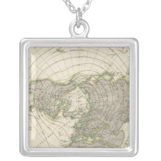 Northern Hemisphere 3 Silver Plated Necklace