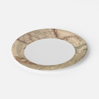 Northern Hemisphere, Arctic Paper Plate