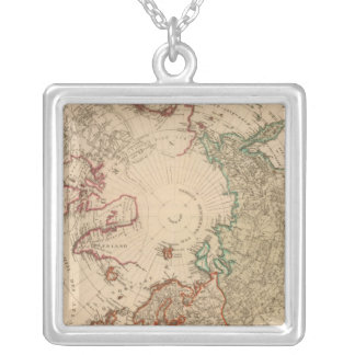 Northern Hemisphere, Arctic Silver Plated Necklace