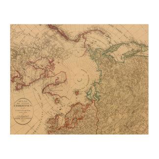 Northern Hemisphere, Arctic Wood Wall Decor
