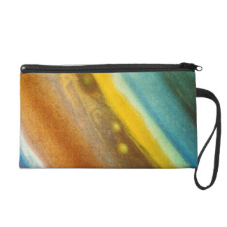 Northern Hemisphere of Saturn Wristlet Clutch