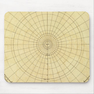 Northern Hemisphere Outline Mouse Mat