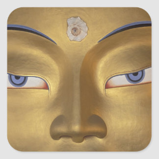Northern India, Ladakh, Thikse gompa Square Sticker