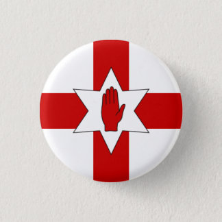Northern Ireland Badge - Star & Hand on Cross