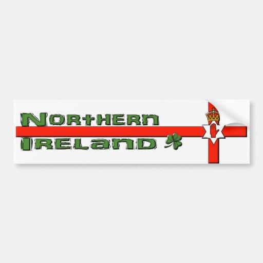Northern Ireland bumper sticker Bumper Sticker
