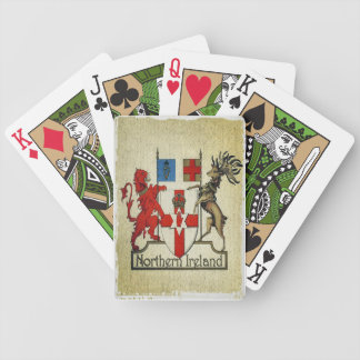 Northern Ireland coat-of-arms playing cards