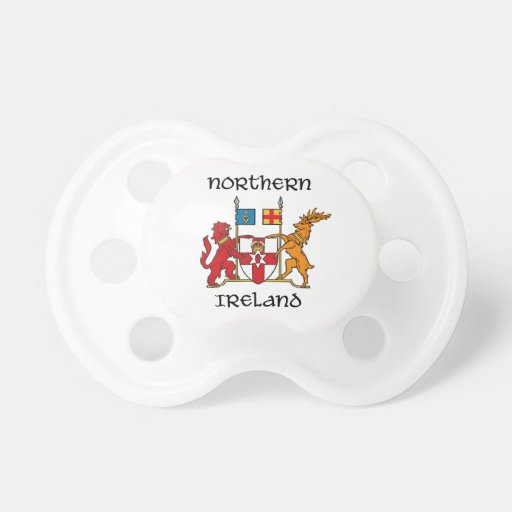 Northern Ireland - coat of arms/symbol/emblem Pacifiers