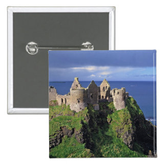 Northern Ireland, County Antrim, Dunluce 15 Cm Square Badge