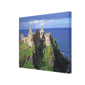 Northern Ireland County Antrim Dunluce Stretched Canvas Prints