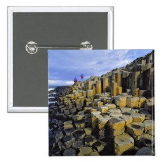 Northern Ireland, County Antrim, Giant's 15 Cm Square Badge