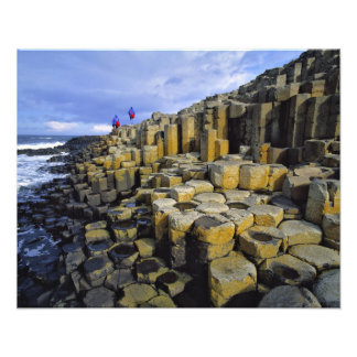 Northern Ireland, County Antrim, Giant's Photo Art