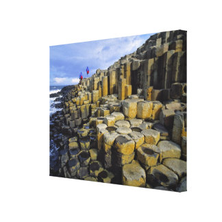 Northern Ireland, County Antrim, Giant's Stretched Canvas Print