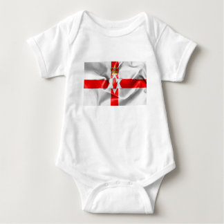 Northern Ireland Flag Baby Bodysuit