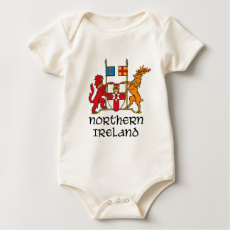 NORTHERN IRELAND - flag/coat of arms/emblem/symbol Baby Bodysuits