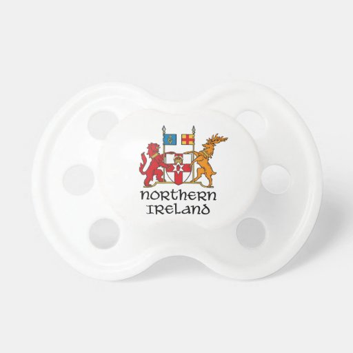 NORTHERN IRELAND - flag/coat of arms/emblem/symbol Pacifiers