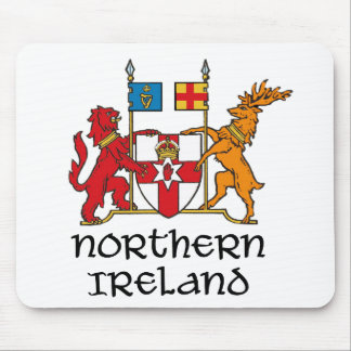 NORTHERN IRELAND - flag/coat of arms/emblem/symbol Mouse Mat