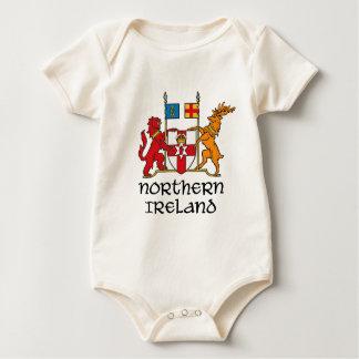 NORTHERN IRELAND - flag/coat of arms/emblem/symbol Baby Bodysuits