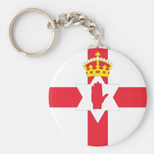 Northern Ireland Flag Key Ring