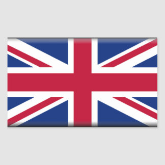Northern Ireland Flag Rectangle Stickers