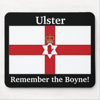 Northern Ireland flag, Ulster, Remember the Boyne! Mouse Mat