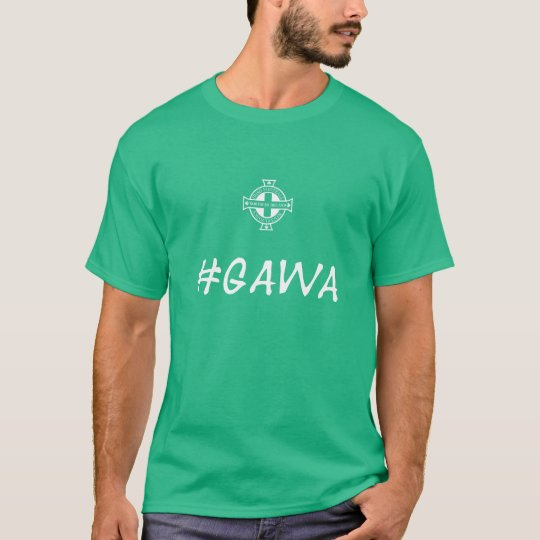 Northern Ireland - Green And White Army T-Shirt