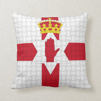 Northern Ireland Irish flag Throw Pillow