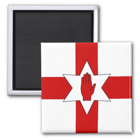 Northern Ireland Magnet - Star & Hand on Cross