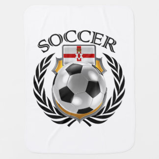 Northern Ireland Soccer 2016 Fan Gear Baby Blankets