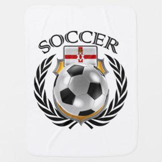 Northern Ireland Soccer 2016 Fan Gear Baby Blankets