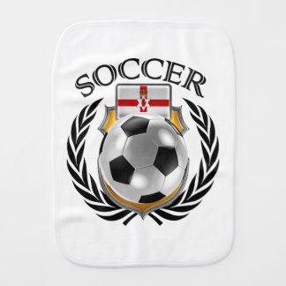 Northern Ireland Soccer 2016 Fan Gear Baby Burp Cloths