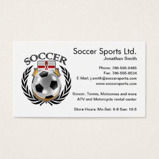 Northern Ireland Soccer 2016 Fan Gear Business Card