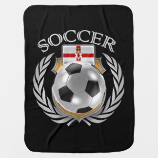 Northern Ireland Soccer 2016 Fan Gear Receiving Blankets