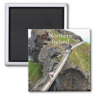 Northern Ireland Square Magnet