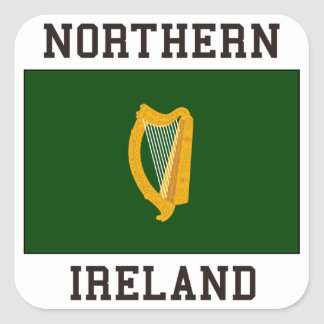 Northern Ireland Square Sticker