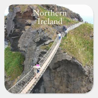 Northern Ireland Square Sticker