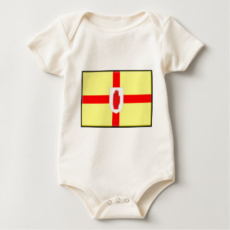 Northern Ireland (Ulster) Flag Baby Bodysuit