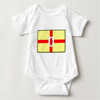 Northern Ireland (Ulster) Flag Baby Bodysuit