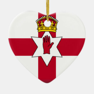 Northern Ireland (Ulster) Flag Christmas Ornament