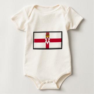 Northern Ireland (Ulster) Flag Baby Creeper