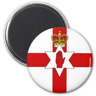 Northern Ireland, United Kingdom 6 Cm Round Magnet