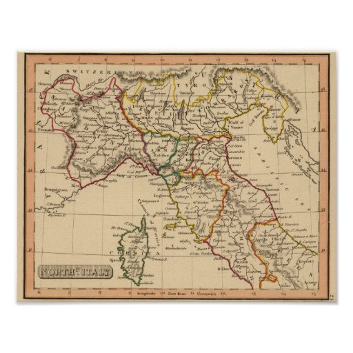 Northern Italy 3 Poster