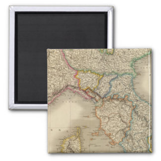 Northern Italy 3 Square Magnet