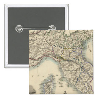Northern Italy 4 15 Cm Square Badge