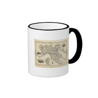 Northern Italy 4 Coffee Mugs