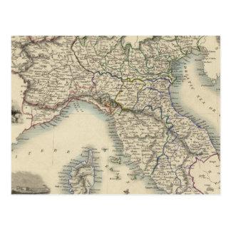 Northern Italy 4 Postcard