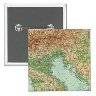Northern Italy, Austria, &c 15 Cm Square Badge