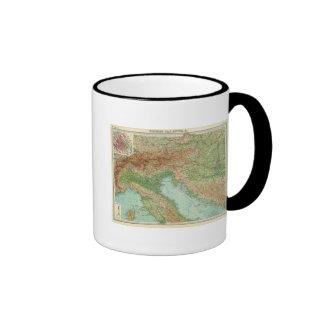 Northern Italy, Austria, &c Mugs